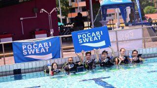 POCARI SWEAT Kicks Off Upcoming Run with Lunar Dive Clinic