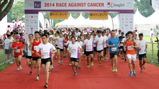 Will You Join Marcus at the Singtel-Singapore Cancer Society Race Against Cancer 2016?