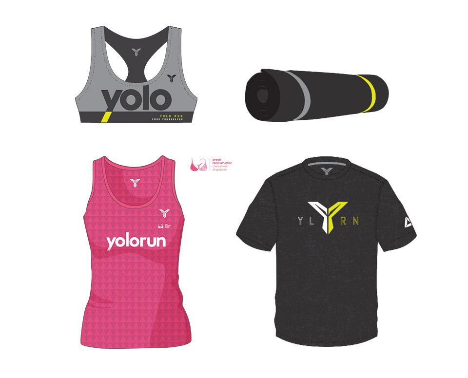 Dare To Bare? Run Shirtless in YOLO Run 2016!
