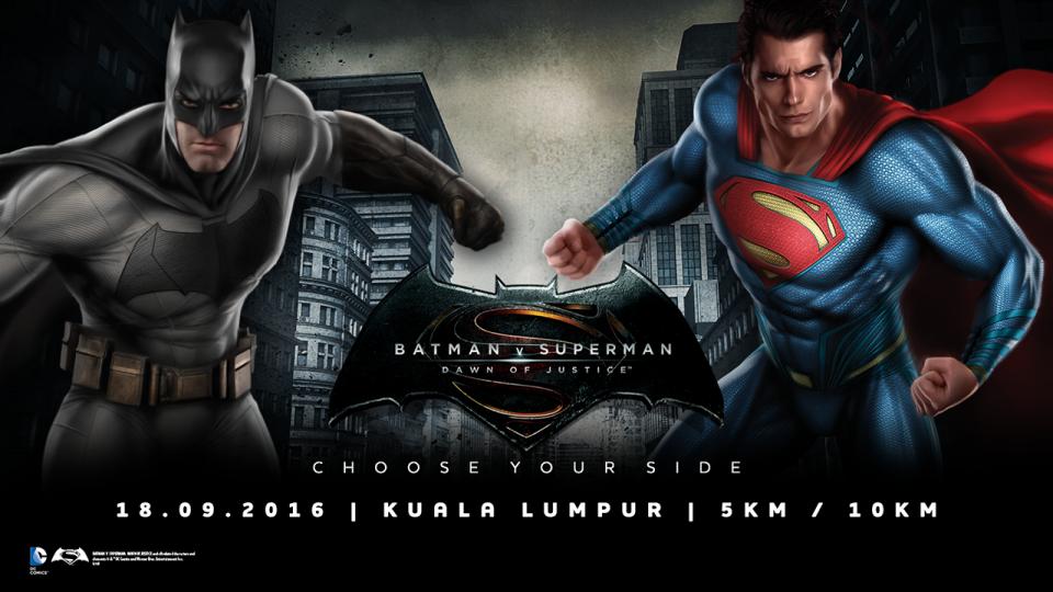 Batman V Superman Malaysia Run 2016