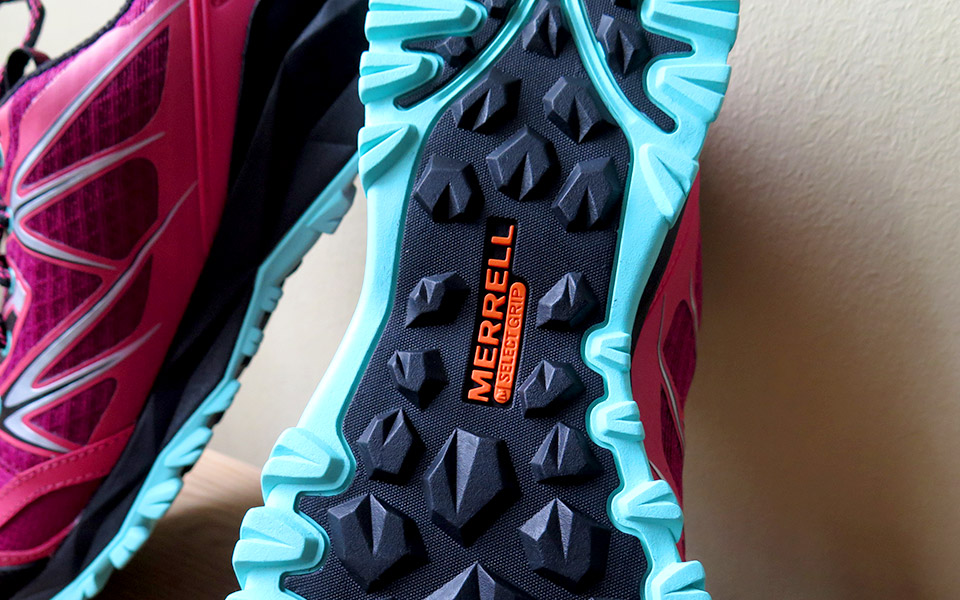 Forest Creatures: Be on the Lookout for Bright Red Merrell Capra Bolt Waterproof Trail Shoes!