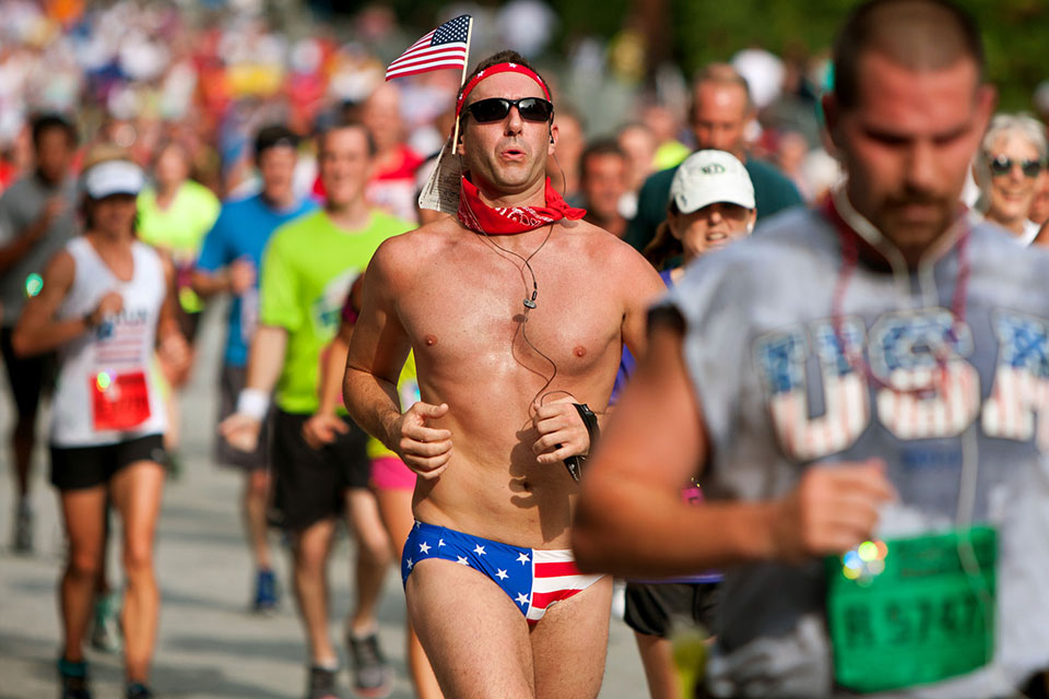 Shirts Off, Please. We Urge You to Run Topless for Charity!