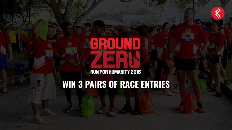 Ground Zero Run 2016: Win 3 Pairs of Race Entries!