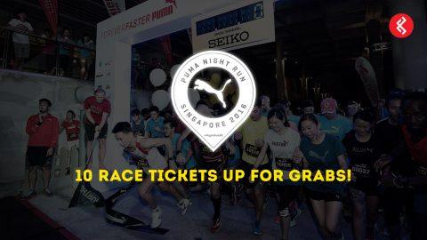 PUMA Night Run Singapore 2016: 10 Race Tickets Up For Grabs!