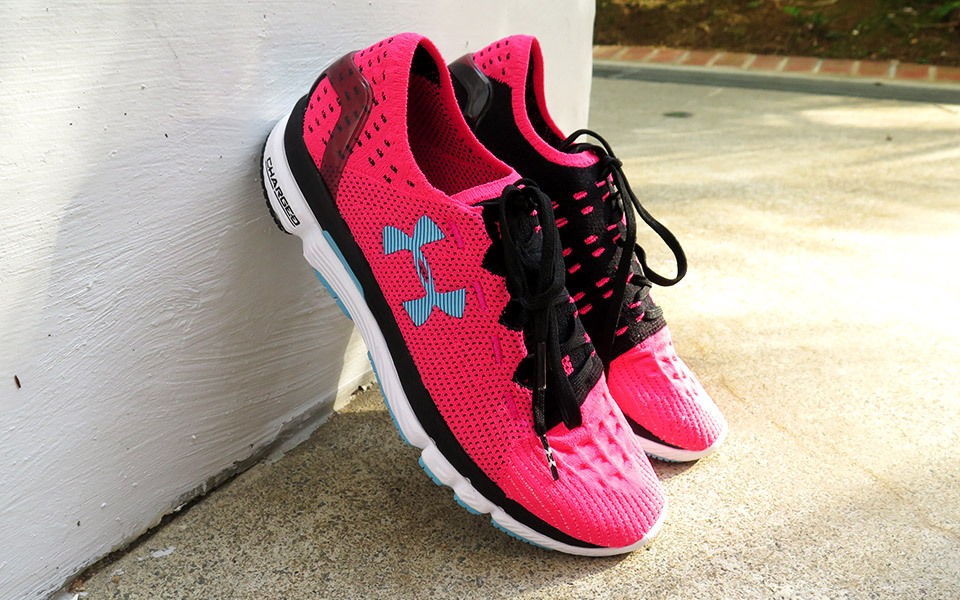 My Love Affair With The Women's UA SpeedForm® Slingshot Running Shoes
