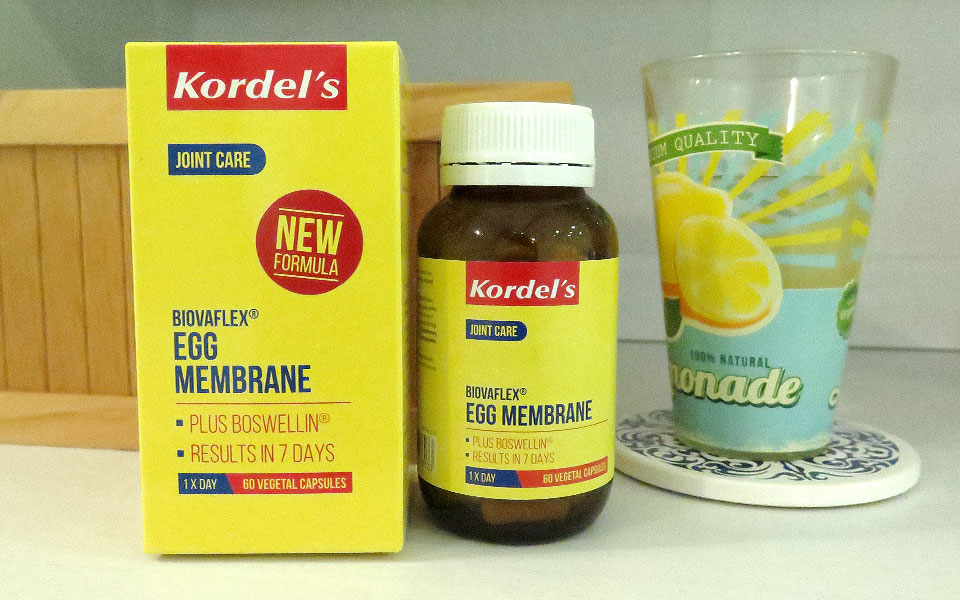 I Want to Protect My Knees So I Tried Kordel's BiovaFlex® Egg Membrane