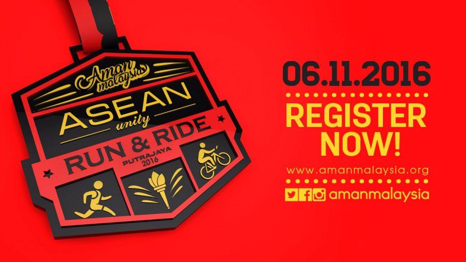 Asean Unity Run & Ride 2016