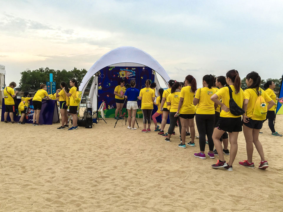SpongeBob Run 2016 Race Review – Beach Running on a Cloudy Day