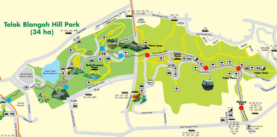 Free Orienteering and Nature Trail Activities At Mount Faber