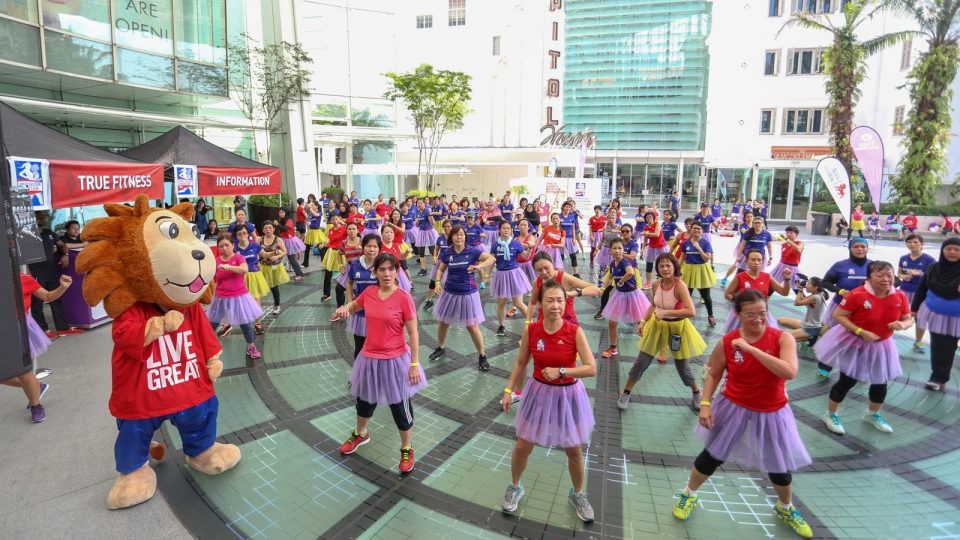 Live Great Mega Dance Fiesta: Hyping up for the Ultimate Women's Run