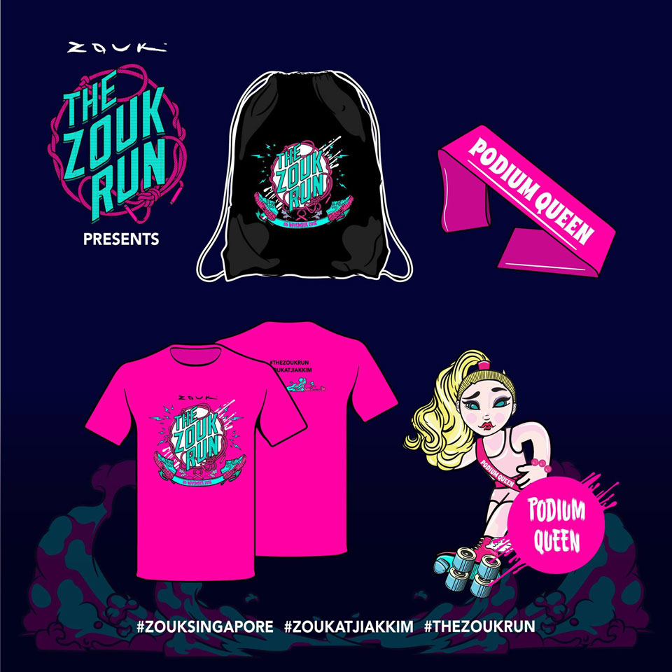Do You Have the Stamina to Run and Party At The Zouk Run?
