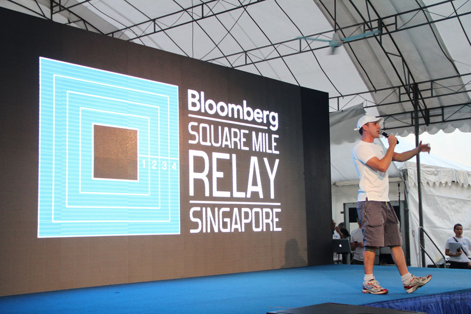 Look For Thaslim at the Bloomberg Square Mile Relay!