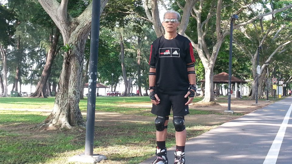 Retiree Elson Wong Wouldn't Miss Sundown Marathon 2017 For the World!