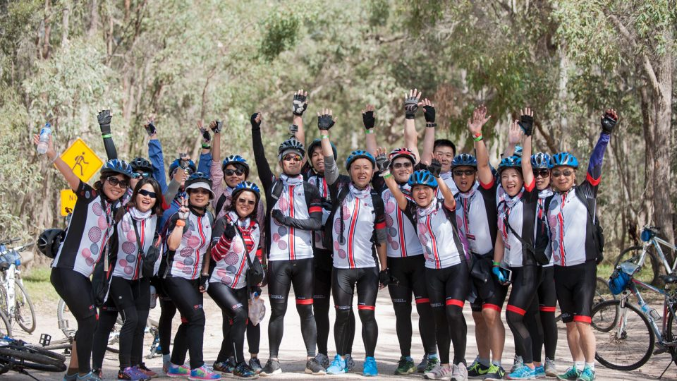 Great Fundraising Success For the Societe Generale Asia Pacific Charity Bike Ride 2016