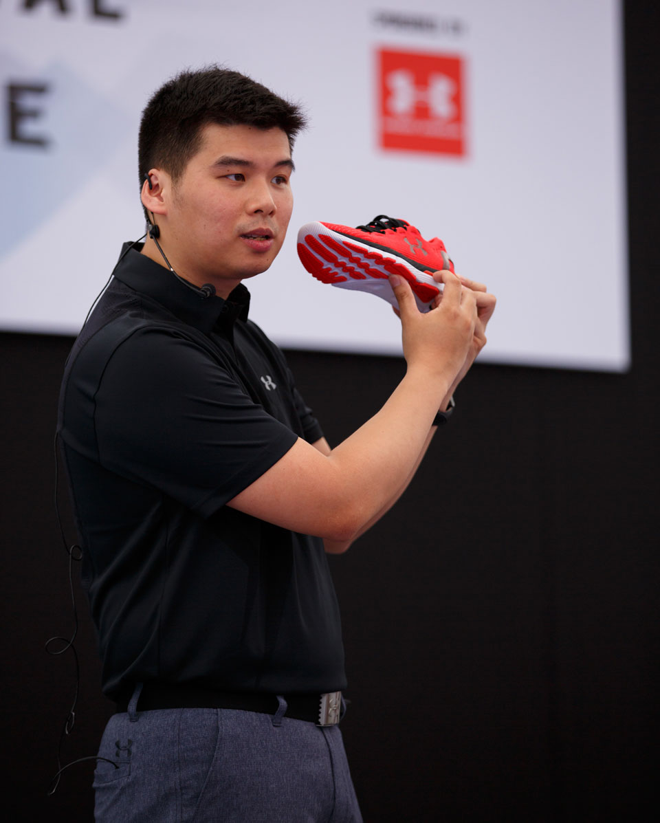 """Meet Vincent Chen: He Puts the """"I"""" in Under Armour Innovation!"""