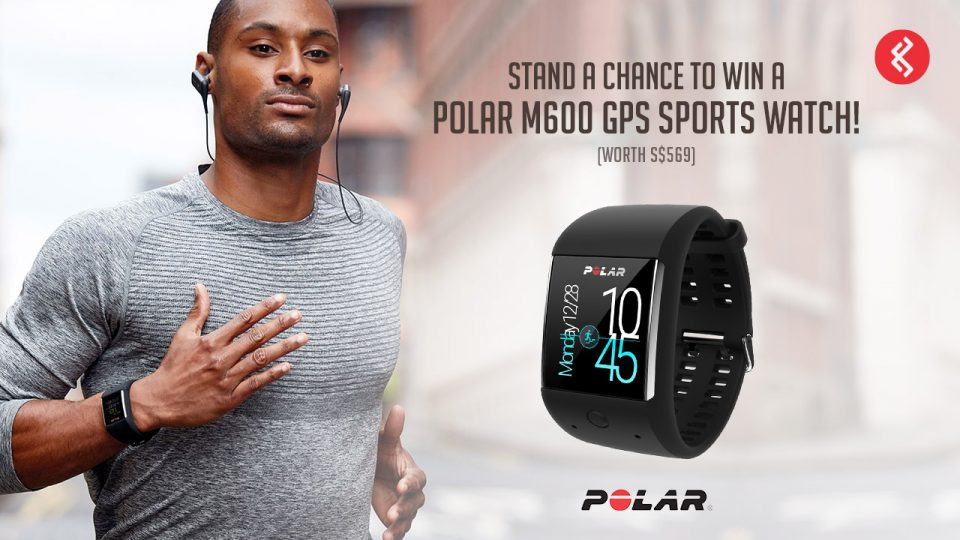 Stand a Chance to Win a Polar M600 GPS Sports Watch!