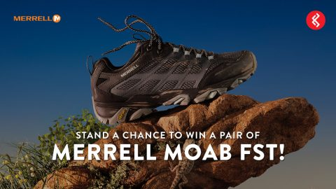 Stand a Chance to Win a Pair of Merrell Moab FST Hiking Shoes!