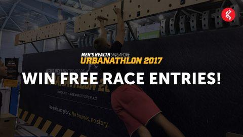 Men's Health Urbanathlon 2017 Race Tickets Giveaway Contest