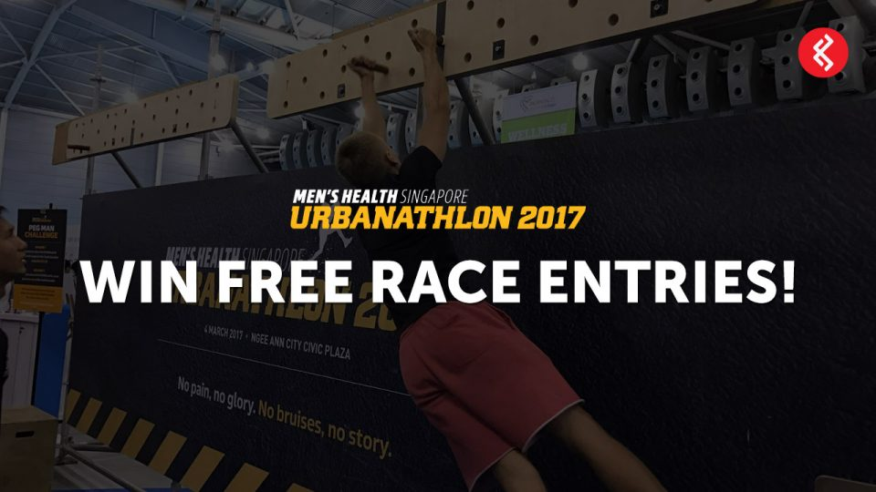 Men's Health Urbanathlon 2017 Race Tickets Giveaway Contest