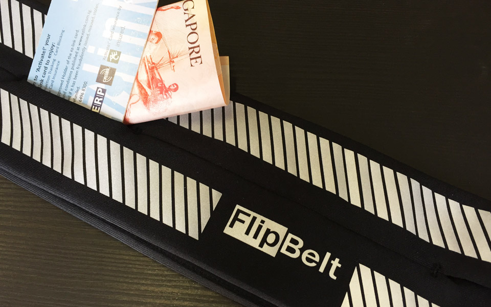 I Didn't Pay a Penny for the Security that comes Free with Every FlipBelt!