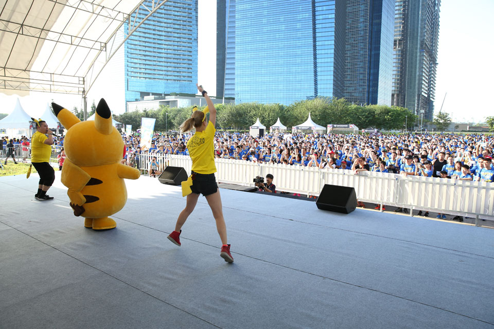 Did You Catch a Pokémon at the Pokémon Run Singapore 2017?