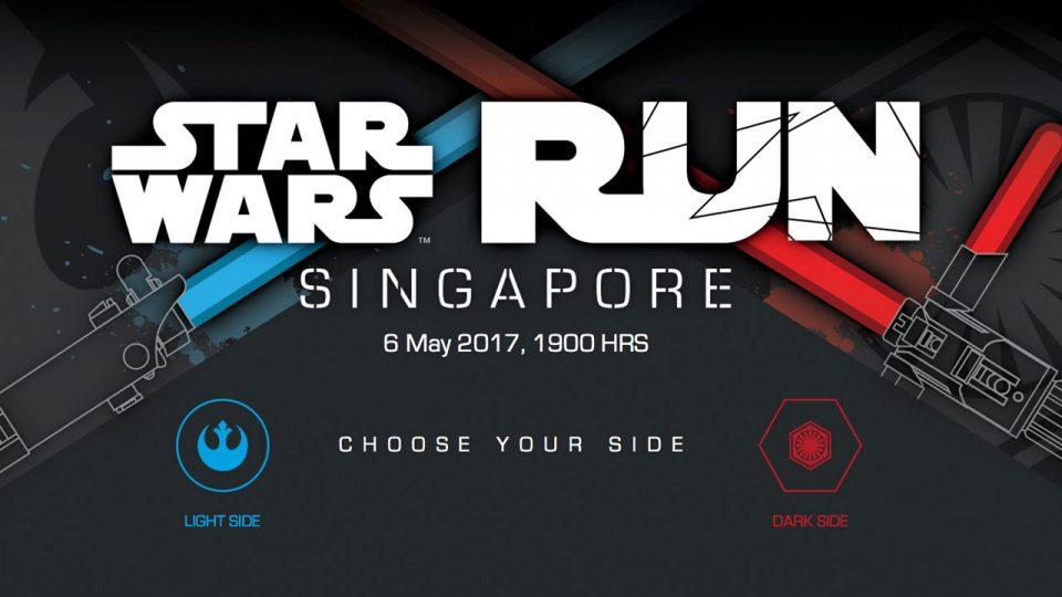 Stars Wars Run Singapore