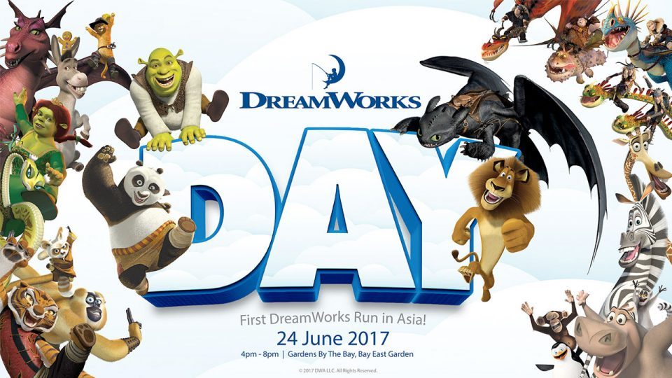 DreamWorks Day Run 2017