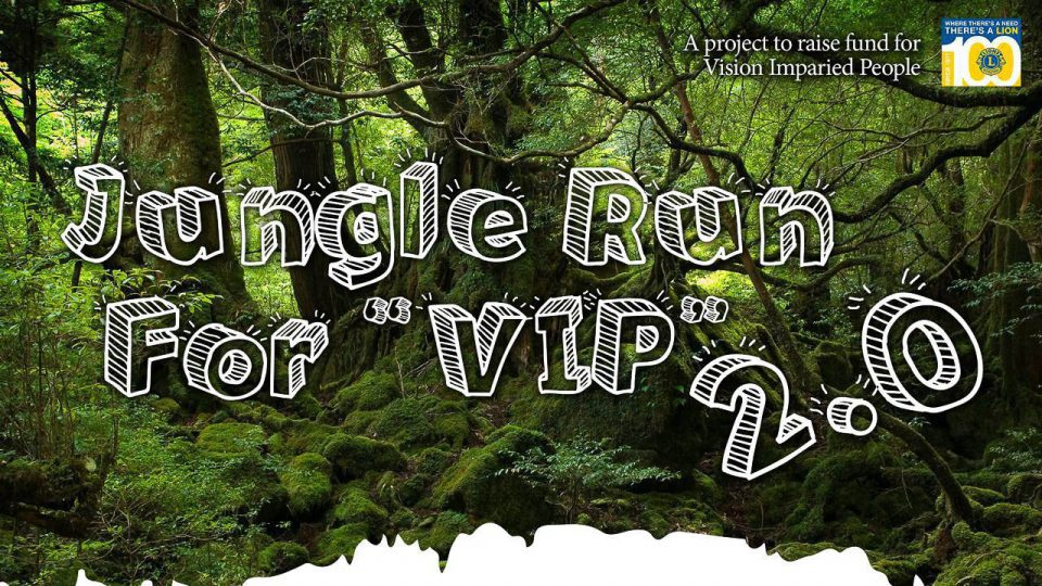 Jungle Run For V.I.P. (Visual Impaired People) 2017