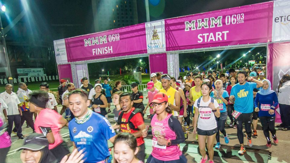 Malaysia Women Marathon 2017