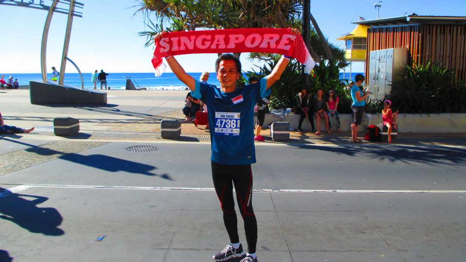 Runner Kok Chuan's Favourite Gold Coast Airport Marathon Memories Include Awesome Aussies