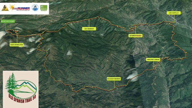 Old Spanish Trail 50K 2017