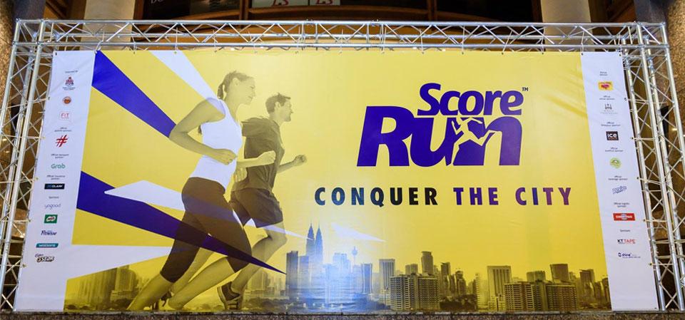 Score Run 2017 Malaysia