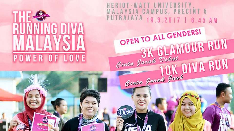 The Running Diva Malaysia - Power of Love 2017