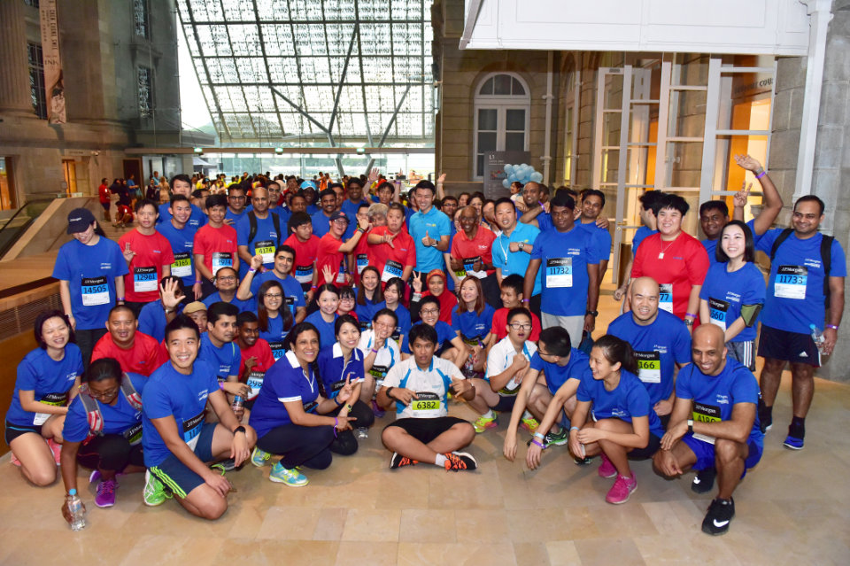 J.P. Morgan Corporate Challenge 2017 Flagged Off More Than 14,000 Runners from Civic District