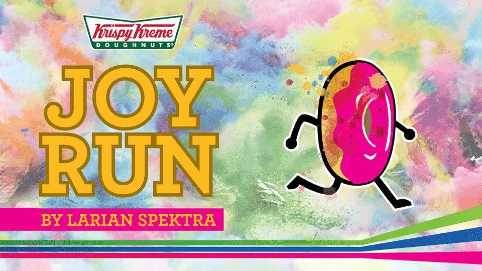Krispy Kreme Joy Run by Larian Spektra 2017