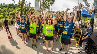 National Geographic Earth Day Run 2017 Singapore