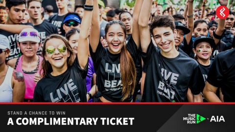 The Music Run Singapore 2017 Free Tickets Giveaway