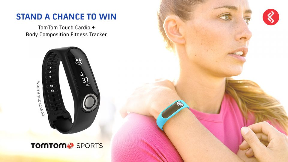 Stand a Chance to Win a TOMTOM Touch Cardio + Body Composition Fitness Tracker