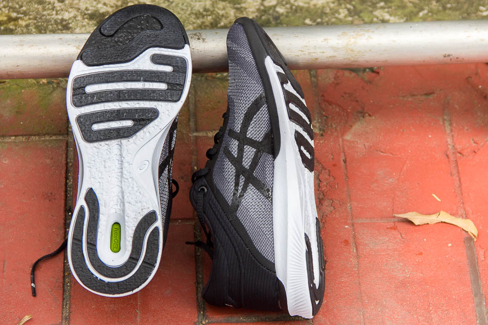 ASICS Enhanced FOOT ID and ASICS fuzeX Rush