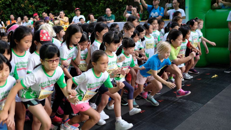 More Than 9,000 Children and Family Members Enjoyed Wholesome Fun at 10th Cold Storage Kids Run