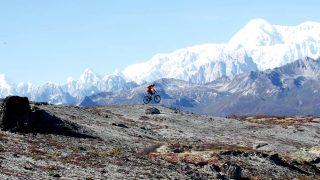 Mountain Bike Pro Hits the Road to Explore his Dream-Riding Destination Far North in Alaska