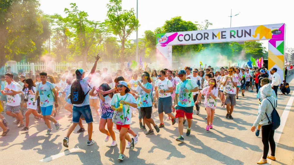Are You Going to La Vie Color Me Run in Ho Chi Minh City?