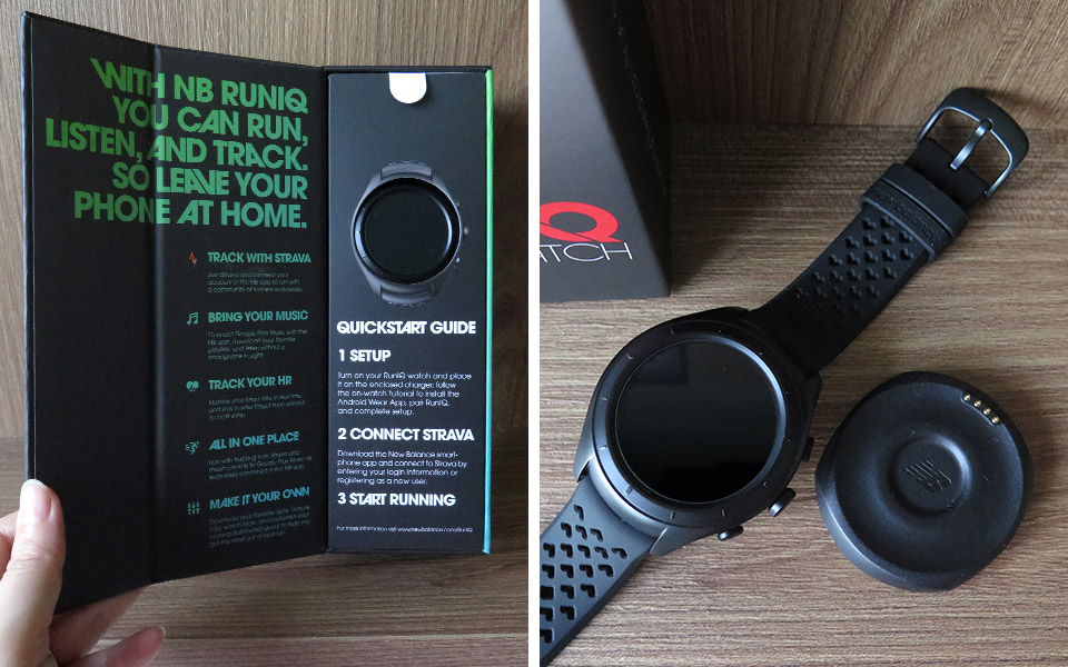 Double Your Pleasure with the NB RUNIQ Smartwatch and PACEIQ Wireless Headphone