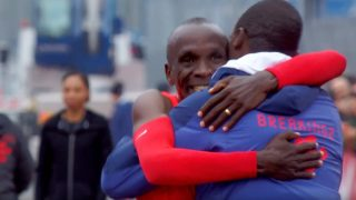 Eliud Kipchoge Set New World Record at Nike's Breaking2