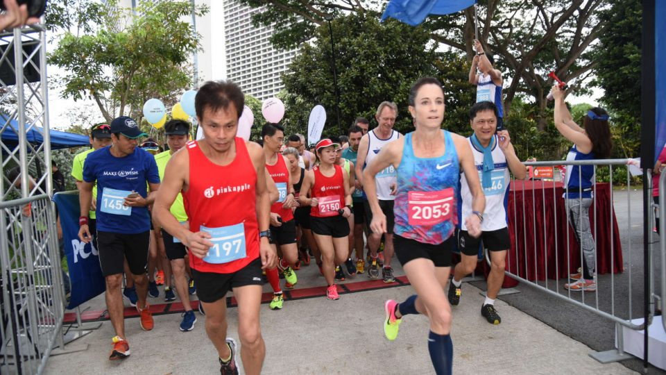 PCCW Global Charity Run 2017 Successfully Raised S$50,000 for Children of Make-A-Wish