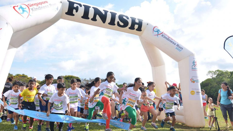 1,000 Runners Went the Gracious Mile at Singapore Kindness Run 2017