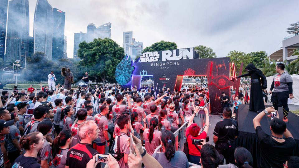 First STAR WARS RUN in Singapore Celebrates Together with 15,000 Local and Overseas Fans