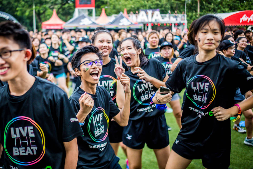 The Music Run™ By AIA 2017 Singapore