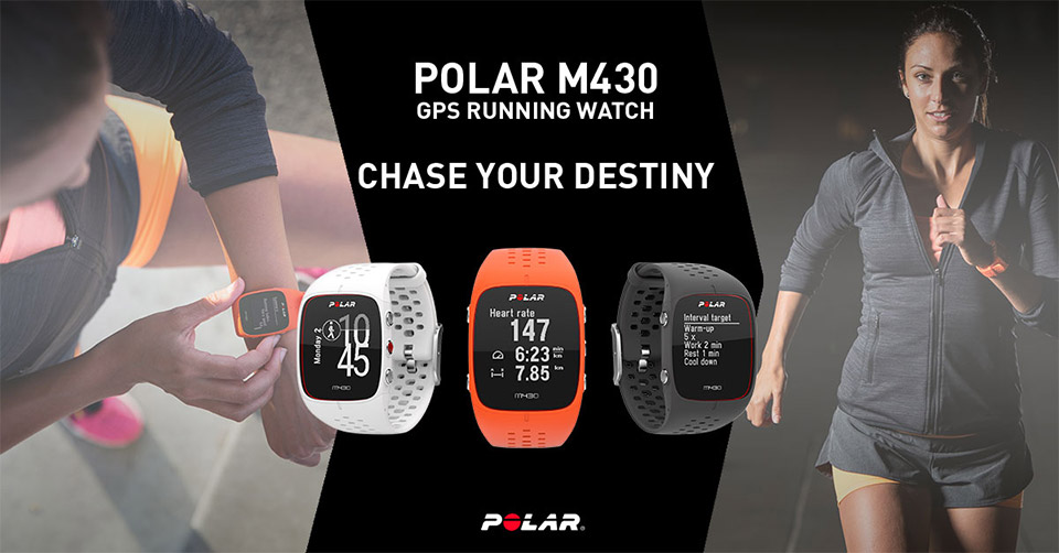 """Can't Afford an Olympic Running Coach? """"Hire"""" a Polar M430 Instead!"""