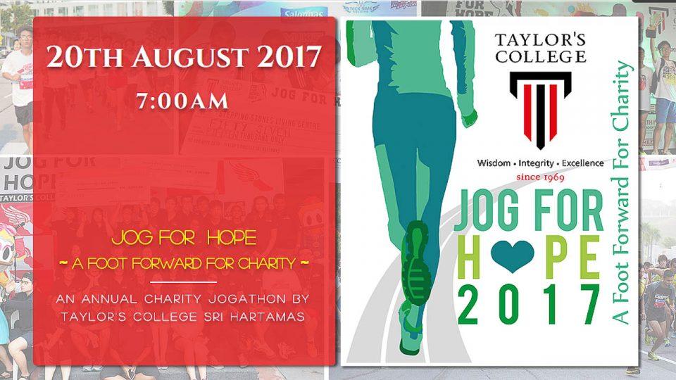 Jog for Hope 2017
